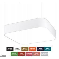 BPM ALTAIR 10172 kwadratowa lampa wisząca LED 40cm-120cm