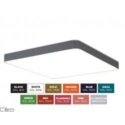 BPM ALTAIR S-light 10199 kwadratowy plafon LED 30cm-120cm