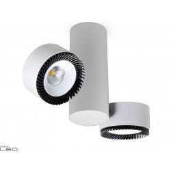 BPM LUK BELUGA 20084 oprawa LED 2x30W biała, czarna, czarno-biała