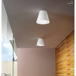 Plafon LINEA LIGHT Conus 7257, 7258 LED 7W biały, szary
