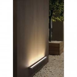 SPOTLINE Lampa zewnętrzna Galen LED Profil 1m srebrno-szary 229481