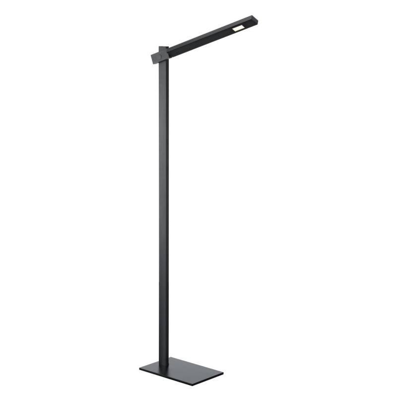floor led lamp slv mecanica 146060 black 6w. Black Bedroom Furniture Sets. Home Design Ideas