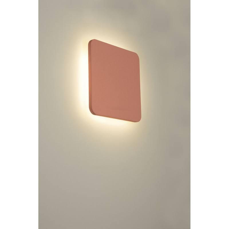 Wall LED light 9W plaster SLV Plastra Square 148019 3000K 30cmx30cm
