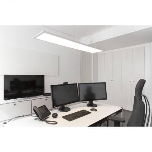 SPOTLINE I-Pendant PRO LED Panel biały, srebrny 35W