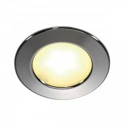 SLV recessed DL 126 LED 112221, 112222 white, chrome 3W 12V