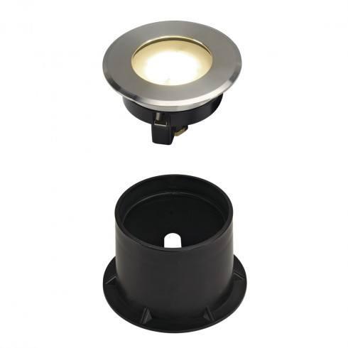 SPOTLINE Dasar Flat LED 230V 228411, 228412 biała, ciepła
