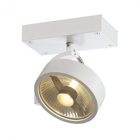 SLV KALU 1 QPAR 230V 147301, 147306 aluminium, white