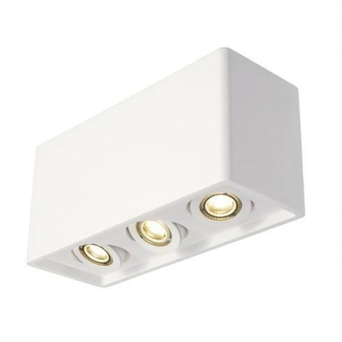SPOTLINE PLASTRA BOX 3 148053 gipsowa lampa sufitowa