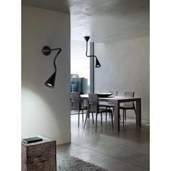 Wall light SNAKE  white, black, 7857, 7858