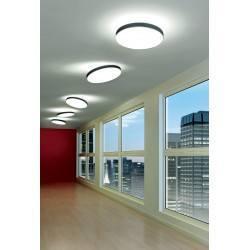 LINEA LIGHT MOVE S 7826, 7827 plafon LED 54cm biały, czarny