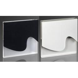 DEMIDIO WENECJA LED schodowa 230V połysk biały, czarny