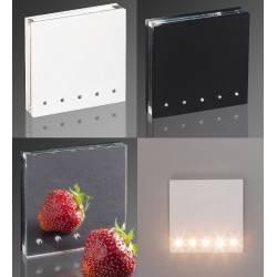 DEMIDIO FOGGIA 5 LED schodowa 230V biały, czarny, lustro