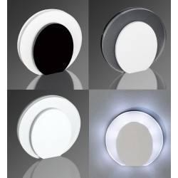 DEMIDIO LUKKA LED schodowa 230V połysk biała, czarna
