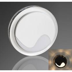 DEMIDIO TURNO LED schodowa 230V połysk biała, czarna