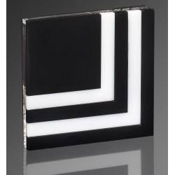 DEMIDIO ROCCA LED 230V biały połysk, czarny połysk