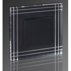 DEMIDIO MEDIOLAN LED schodowa 230V biała, złota, srebrna, czarna