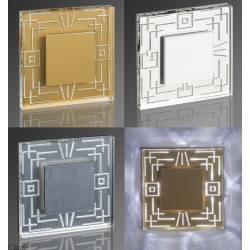 DEMIDIO ROMA LED 230V biała, złota, srebrna, czarna