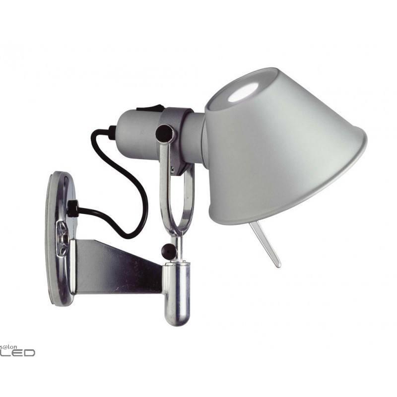 artemide tolomeo micro faretto halo led e14 or led 8w alu wall light. Black Bedroom Furniture Sets. Home Design Ideas