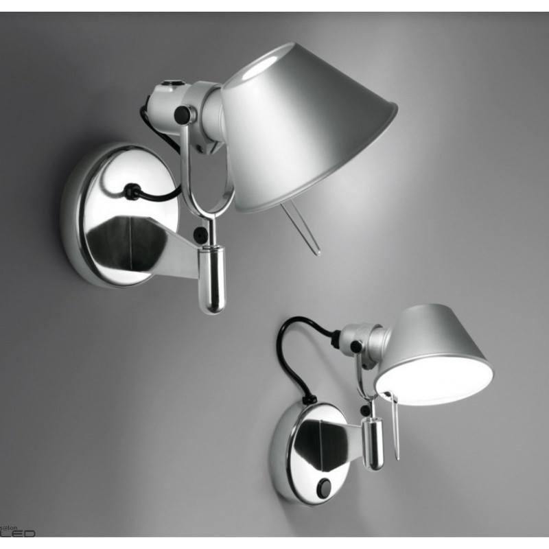 artemide tolomeo micro faretto halo led e14 or led 8w alu. Black Bedroom Furniture Sets. Home Design Ideas