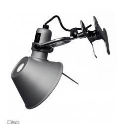 Artemide Tolomeo Micro Pinza LED 8W aluminium lamp