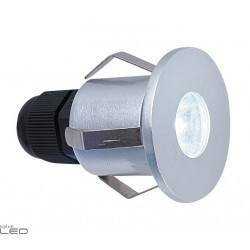 Outdoor recessed lamp DOPO DONISI LED 1W alu
