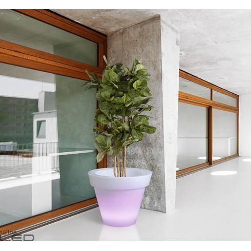 Illuminated LED plant pot GRANDE diam 88cm warm, cool, RGB
