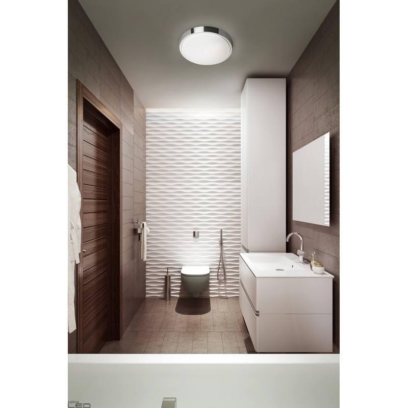... LEDS-C4 BUBBLE ceiling bathroom LED lamp 30cm, 37cm chrome ...