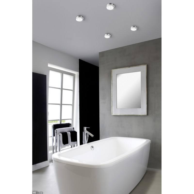 Leds C4 Eis 90 1690 21 37 Bathroom Downlight Ip54 12v