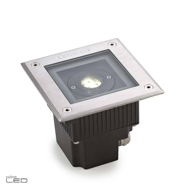 Leds c4 gea power led 6w up light recessed outdoor ip67 for Landscape up lighting led