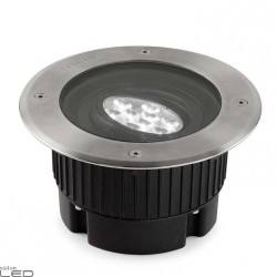LEDS-C4 GEA POWER LED 18cm 9W, 18W up-light recessed IP67