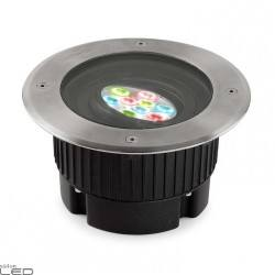 LEDS-C4 GEA RGB EASY 55-9824-CA-37 LED 11W up-light recessed outdoor IP67