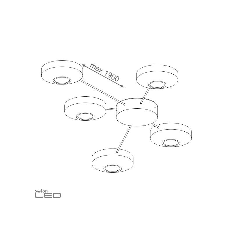 aqform aqled lens spider recessed 40382 design and modern
