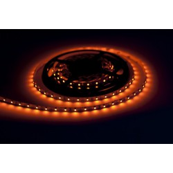 Orange LED strip 300  roller 5m not waterproof 8mm