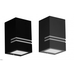 Kobi Quazar 10 wall light for outside IP44 chrome
