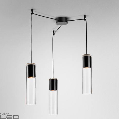 AQFORM MODERN GLASS Tube TP GU10 spider suspended