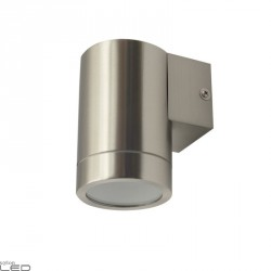 Kobi Quazar 16 outdoor wall light steel
