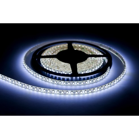 LED strip 600 cool white Roll 5m waterproof 8mm