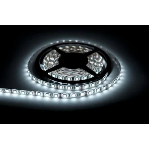LED strip 600 cool white Roll 5m waterproof 8mmRolka 5m