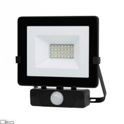 FLOODLIGHT LED 20W with SENSOR