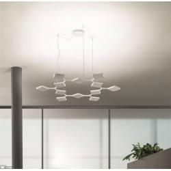 MA&DE QUAD P3 8112, 8113 pendant lamp white, black 91W