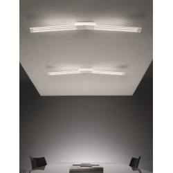 MA&DE LAMA S 7109, 7110 white, black ceiling LED lamp