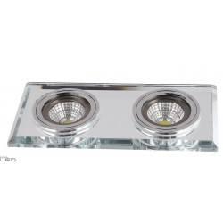 AUHILON LUK II CG-03/2 SQ CLEAR, CG-03/2 SQ BLACK Ceiling light