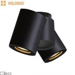 HOLDBOX BARI 2 ceiling lamp 2xGU10