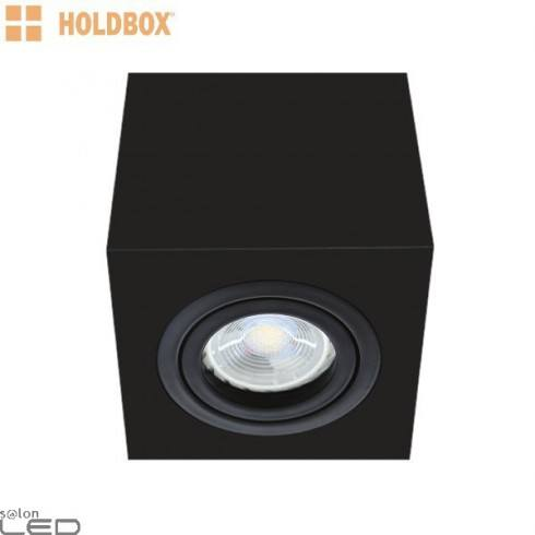 HOLDBOX Cube S-GU10 lampa natynkowa