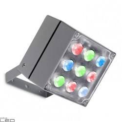 LEDS-C4 CUBE 05-993 projektor LED RGB easy, RGB DMX