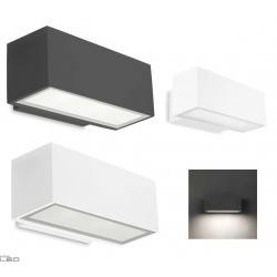 LEDS-C4 Afrodita LED wall light 8x1W light grey