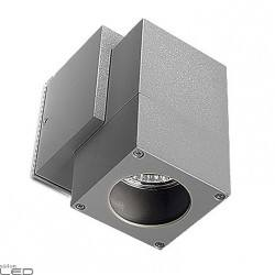 LEDS-C4 ICARO 05-9190-34-37 outdoor wall light IP44 grey