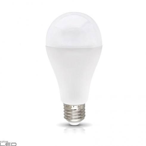 Bulb LED E27 18W white warm, natural, cold