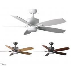 Ceiling fan with LED lighting Fantasia Prima