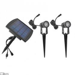 Kobi SOLAR LED reflektor solarny 2x1W